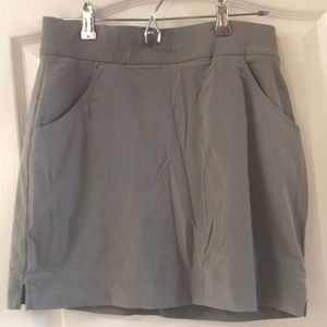 Columbia omni shield gray skort skirt medium